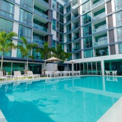 Отель Oceanstone 604 бассейн фото 3