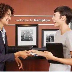 Отель Hampton Inn Brooklyn Park, MN США, Бруклин-Парк - отзывы, цены и фото номеров - забронировать отель Hampton Inn Brooklyn Park, MN онлайн интерьер отеля