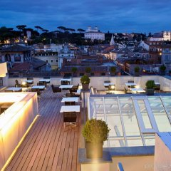 The First Luxury Art Hotel Roma балкон