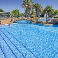 Отель Camping Solmar Испания, Бланес - отзывы, цены и фото номеров - забронировать отель Camping Solmar онлайн бассейн