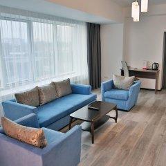 Отель Астра Алматы комната для гостей фото 4