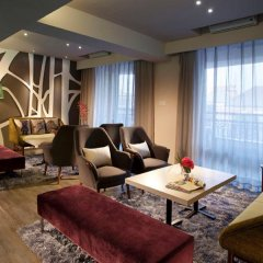 Отель Citadines Biyun Shanghai Китай, Шанхай - отзывы, цены и фото номеров - забронировать отель Citadines Biyun Shanghai онлайн интерьер отеля фото 2