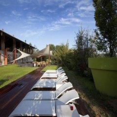 Отель Agriturismo Cascina Caremma Бесате приотельная территория фото 2