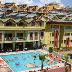 Sindy Apart Турция, Мармарис - отзывы, цены и фото номеров - забронировать отель Sindy Apart онлайн бассейн фото 5