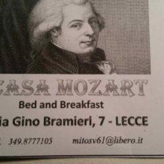 Отель Casa Mozart B&B Лечче с домашними животными
