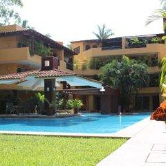 Отель Los Mangos Мексика, Сиуатанехо - отзывы, цены и фото номеров - забронировать отель Los Mangos онлайн бассейн фото 3