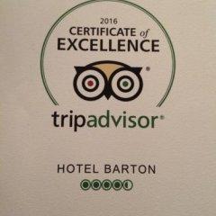 Hotel Barton интерьер отеля фото 3