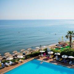 Отель Zephyros Beach пляж