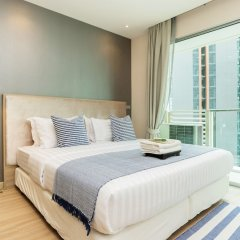 Отель Sky Walk Condominium By Favstay Таиланд, Бангкок - отзывы, цены и фото номеров - забронировать отель Sky Walk Condominium By Favstay онлайн комната для гостей фото 5