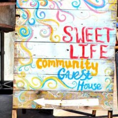 Отель Sweet Life Community Guesthouse Старая часть Ланты гостиничный бар