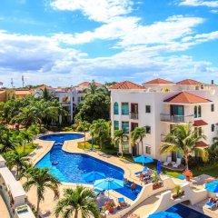 Отель Paseo del Sol by Royal Properties Плая-дель-Кармен балкон