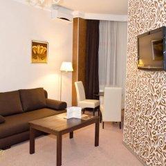 Корона отель-апартаменты комната для гостей фото 2