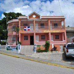 Отель Aparta Hotel Vista Tropical Доминикана, Бока Чика - отзывы, цены и фото номеров - забронировать отель Aparta Hotel Vista Tropical онлайн парковка