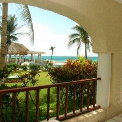Отель Xaman Ha Condominiums Плая-дель-Кармен балкон