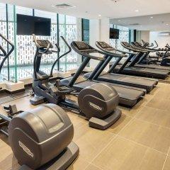 Radisson Blu Olympiyskiy Hotel фитнесс-зал