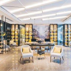 Отель Atour Hotel (Beijing Financial Street) Китай, Пекин - отзывы, цены и фото номеров - забронировать отель Atour Hotel (Beijing Financial Street) онлайн интерьер отеля фото 3