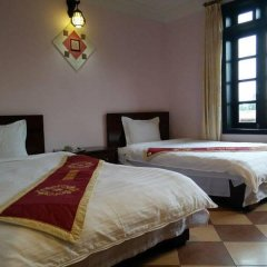 Thien Ngan Sapa Hotel комната для гостей фото 4