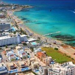 Отель Mike & Lenos Tsoukkas Seaview Apartments Кипр, Протарас - отзывы, цены и фото номеров - забронировать отель Mike & Lenos Tsoukkas Seaview Apartments онлайн пляж фото 2