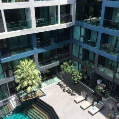 Отель Acqua Condo - 505 by Axiom Паттайя балкон