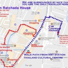 Отель Popcorn House Ratchada городской автобус