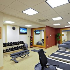 Отель Hampton Inn & Suites Columbus - Downtown США, Колумбус - отзывы, цены и фото номеров - забронировать отель Hampton Inn & Suites Columbus - Downtown онлайн фитнесс-зал фото 2