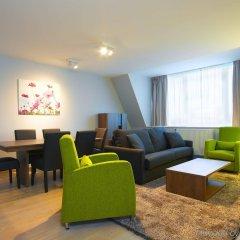 Отель Thon Residence Florence Aparthotel Бельгия, Брюссель - отзывы, цены и фото номеров - забронировать отель Thon Residence Florence Aparthotel онлайн комната для гостей фото 4
