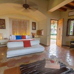 Отель Las Palmas Resort & Beach Club Мексика, Коакоюл - отзывы, цены и фото номеров - забронировать отель Las Palmas Resort & Beach Club онлайн комната для гостей фото 3