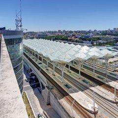 Отель TRYP Lisboa Oriente Hotel Португалия, Лиссабон - отзывы, цены и фото номеров - забронировать отель TRYP Lisboa Oriente Hotel онлайн приотельная территория фото 2