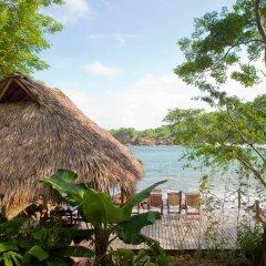 Отель Aqua Wellness Resort пляж