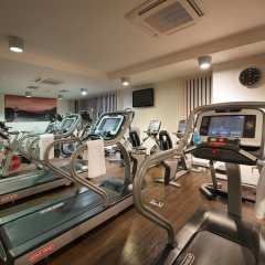 Wellness Hotel Diamant Глубока-над-Влтавой фитнесс-зал фото 2