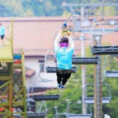 Отель Yongpyong Resort Dragon Valley Hotel Южная Корея, Пхёнчан - отзывы, цены и фото номеров - забронировать отель Yongpyong Resort Dragon Valley Hotel онлайн фитнесс-зал фото 4