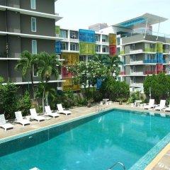 Ratchada City Hotel бассейн фото 3
