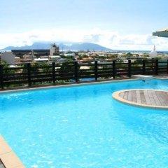 Отель Studio Centre Французская Полинезия, Папеэте - отзывы, цены и фото номеров - забронировать отель Studio Centre онлайн бассейн фото 2
