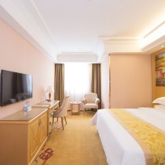 Vienna Hotel Guangzhou Panyu NanCun комната для гостей