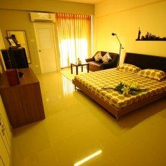 Отель At Home Phetkasem Таиланд, Бангкок - отзывы, цены и фото номеров - забронировать отель At Home Phetkasem онлайн комната для гостей