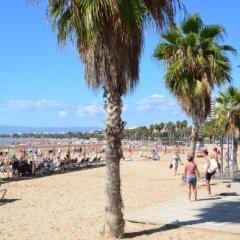 Отель Ona Jardines Paraisol Испания, Салоу - отзывы, цены и фото номеров - забронировать отель Ona Jardines Paraisol онлайн пляж фото 2