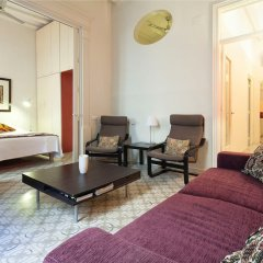 Отель Habitat Apartments Banys Испания, Барселона - отзывы, цены и фото номеров - забронировать отель Habitat Apartments Banys онлайн комната для гостей фото 4