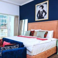 Апартаменты One Perfect Stay Studio Burj Al Nujoom комната для гостей фото 2