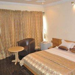 Solitude Hotel Yaba Лагос комната для гостей фото 4