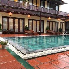 Отель Ha My Beachside Villa Hoian бассейн