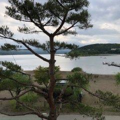 Отель Lake Side Inn Fujinami Яманакако пляж