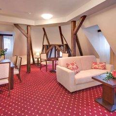 Отель Clarion Grand Zlaty Lev Либерец комната для гостей фото 5