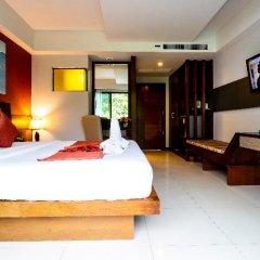 Отель Di Pantai Boutique Beach Resort сейф в номере