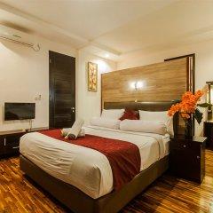 Отель Villa Umah Puri сейф в номере