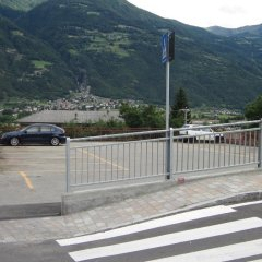 Отель Albergo Ristorante Casale Сен-Кристоф парковка