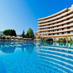 Отель Grand Hotel Pomorie Болгария, Поморие - 2 отзыва об отеле, цены и фото номеров - забронировать отель Grand Hotel Pomorie онлайн бассейн