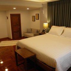 Отель Maneeya Park Residence Бангкок комната для гостей фото 5
