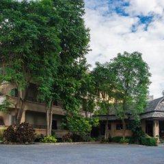 Апартаменты Plumeria Serviced Apartment Паттайя парковка