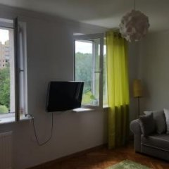 Апартаменты Studiospanie Studio Green Sopot Сопот комната для гостей фото 5