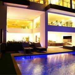 Апартаменты GM Serviced Apartment Бангкок гостиничный бар